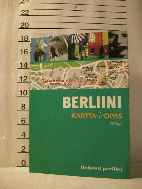 Berliini Kartta Opas Helposti Perille Kunto Uusi Tai Lahes