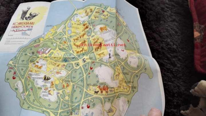 Korkeasaari Kartta V 1957 Kunto Hyva 4 00 Antikvariaatti Net