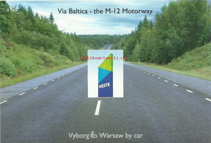 Via Baltica The M 12 Motorway Vyborg To Warsaw By Car 1992