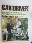 Car and Driver 1966 nr 8 August, sis. mm. seur. artikkelit / kuvat / mainokset; Buick Riviera GS, Alfa 1750 Replica, Rover-BRM Turbine Car, Lotus Elan Coupe,  Cover picture Carrol Shelby - Dan Gurney - All American Eagle, Indianapolis 500, Honda - Ralph Bryans, Mario Andretti on the move, Peter De Paolo, Triumph TR-4A, etc.
