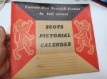 Scots Pictorial Calendar 1959 (in colour) unused with envelope -