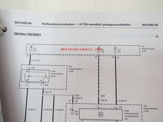 ford - huoltokoulutus - kytkentäkaaviot - ford galaxy 2000 3/4- /wiring  diagrams