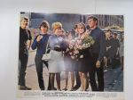 To sir, with love - Columbia Pictures - Sidney Poitier, Judy Geeson, Christian Roberts, Suzy Kendall -elokuvan mainoskuva / kaappikuva / painokuva -movie advertising photo / print display case photo