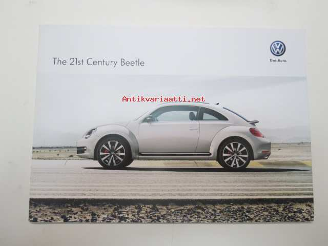 21 Century Auto >> Volkswagen Beetle The 21st Century Beetle Myyntiesite Brochure In Finnish