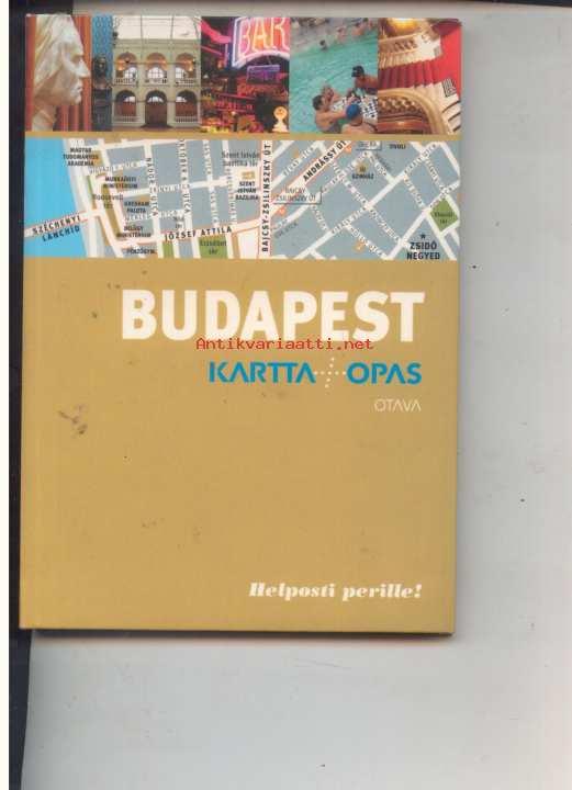 Budapest Otavan Karttaopas Kunto Hyva 5 00 Antikvariaatti Net