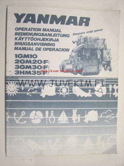 yanmar 1gm10  2gm20 f   3gm30 f   3hm35 f  operation yanmar diesel engine manual download yanmar diesel engine manual