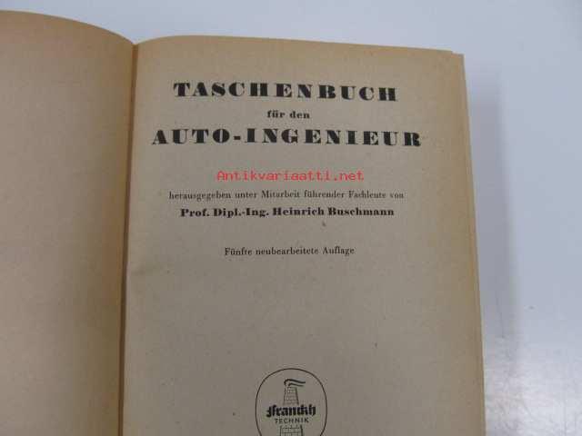 taschenbuch fur den auto ingenieur