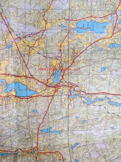 Parkano 2211 Topografinen Kartta 1 100 000 Kunto Hyva 5 00