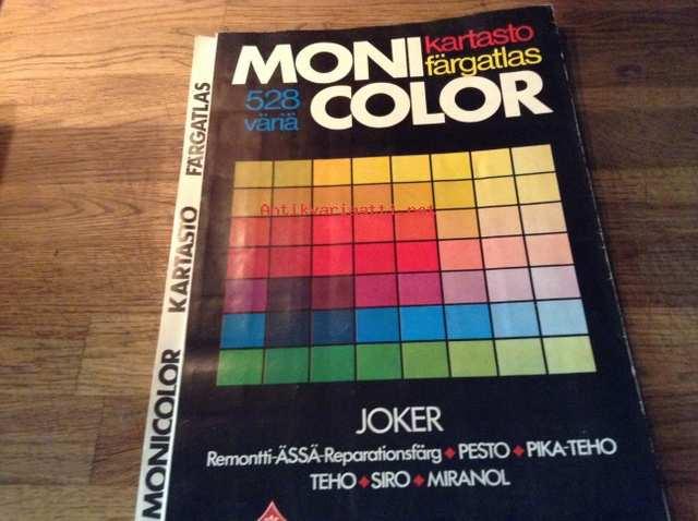 Mcn värikartta