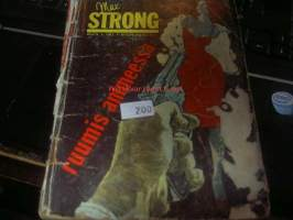 Max Strong 1963 nr 8  Ruumis ammeessa