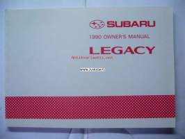 Subaru Legacy -owner's manual