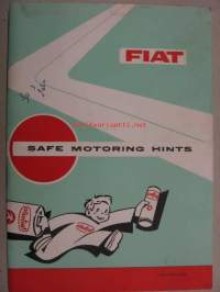 Fiat  - Safe motoring hints