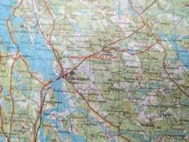 Lieksa Lieksa 1 200 000 Venalainen Kartta V 1993 Kunto Hyva