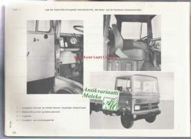 Mercedes-Benz  type LP 608 Chassis and body spare parts list  Varaosakuvasto  1965