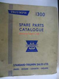 Triumph 1300 Spare parts Catalogue varaosaluettelo