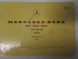 Mercedes-Benz Motor-Engine-Moteur Typ OM 615 (615) Catalog C