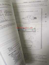 Toyota Repair Manual for Collision Damage Carina TA6_ Series Sept., 1981