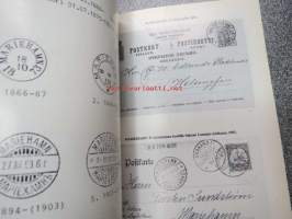 Ahvenanmaa - postitoimipaikat ja leimat / Åland - postanstalter och stämplar / Aaland Isles  - post officies and their cancellations 1812-1982
