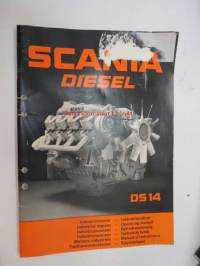 Scania DS 14 Industrimotorer instruktionsbok- Industrial engines operating manual- Industriemotoren Betriebsanleitung - Industriemotoren instruktie boek - Moteurs