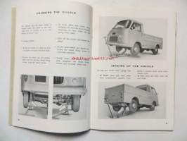 Fiat 1100 T type 217 c Van and Pickup.