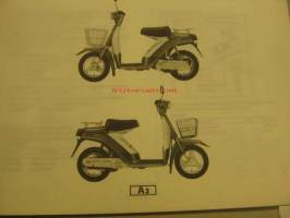 Yamaha SA50M´81 parts catalogue varaosaluettelo