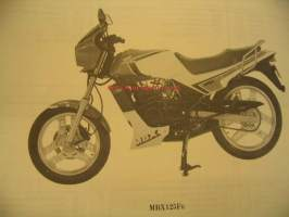 Honda MBX125Fe Parts catalogue varaosaluettelo