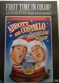 Abbot and Costello - The christmas show DVD - elokuva