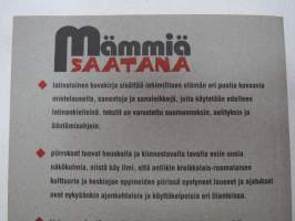 Mämmiä saatana - latinalainen kuvakirja -latin phrases with pictures