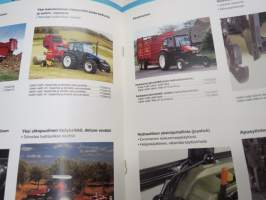 New Holland traktorit 60 - 95 HV lisävarusteita -esite / brochure, accessories