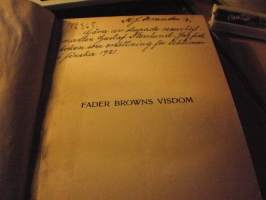 Fader Browns visdom