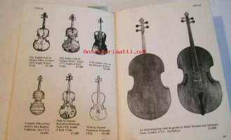 Antiques and their values.Musical Instruments