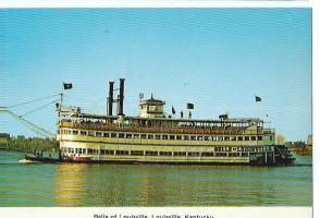 The Belle of Louisville Kentucky  - laivakortti, laivapostikortti