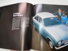 Ford Escort 1970 -myyntiesite / sales brochure