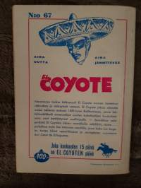 El Coyote 1959 N:o 67, everstin hairahdus