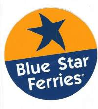 Blue Star  ferries    tarra 10 cm