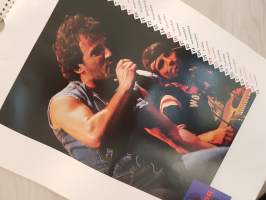Bruce Springsteen Calendar 1987, published by Culture Shock, Copyright Approved