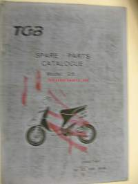 TGB GI5alfa Spare parts catalogue varaosaluettelo