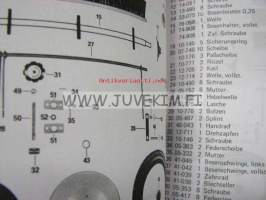 Hako-Flipper (6270) Spare parts list -varaosaluettelo