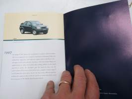 Land Rover 50 - Brief history -myyntiesite / sales brochure