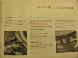 Fiat 132 Käsikirja owner´s manual