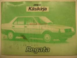 Fiat Regata vm. 1986 Käsikirja owner´s manual