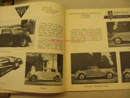 Catalogue of British Cars of 1949-59