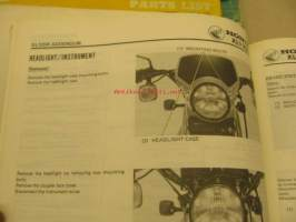 Honda XL 125R Shop Manual