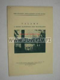 Valamo short handbook for travellers 1926