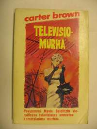 Carter Brown 50 Televisiomurha