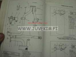 Caterpillar 3306 Vehicular engine 3N1-Up to 3N24132 parts book -varaosaluettelo