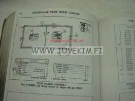 Caterpillar 980B Wheel loader 89P2168-up parts book -varaosaluettelo