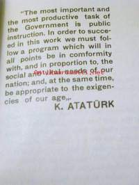 public instruction in the republicof turkey