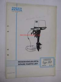Volvo Penta Archimedes, typ 150, 140 cc, 2-cyl.reservdelslista, spare parts list -varaosaluettelo