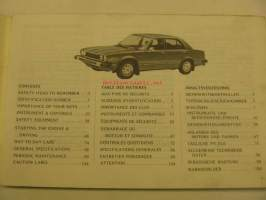 Honda Accord 4-door sedan owner´s manual